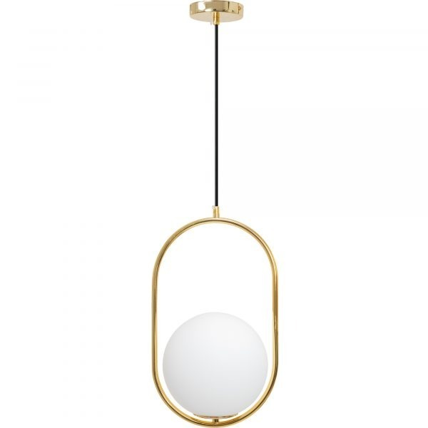 CHANDELIER - PICASSO GOLD OVAL