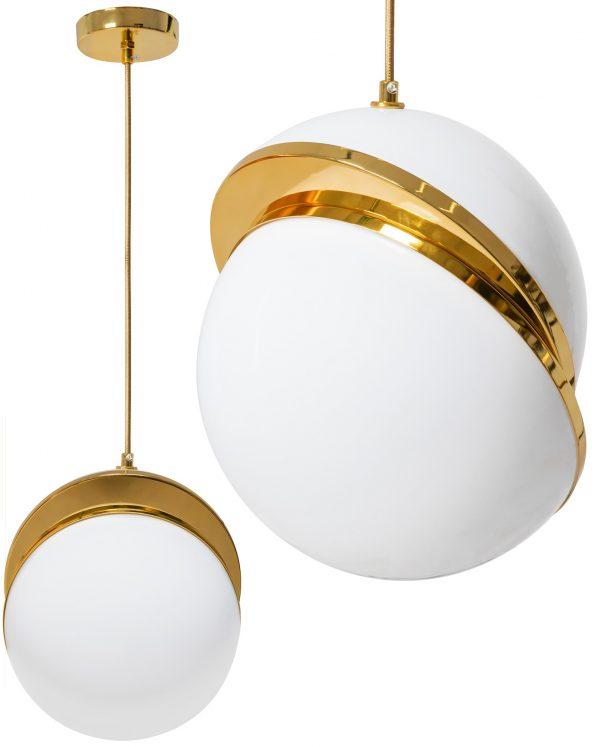 Griestu lampa - ACRYLIC GOLD BALL