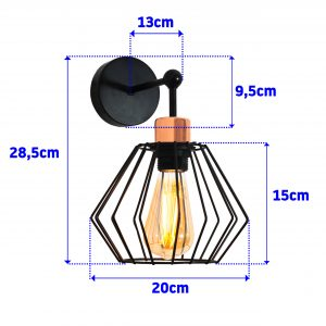 WALL LAMP - SIENA