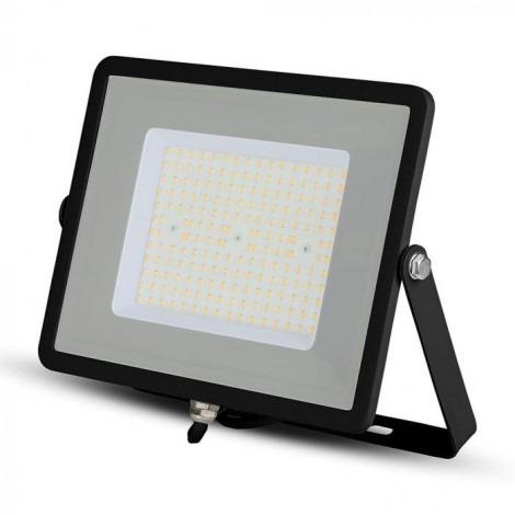 100W (12000Lm) IP65 LED Prožektors ULTRA SLIM SAMSUNG CHIP 120W/M (Melns/Balts)