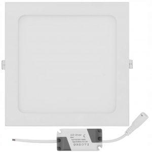 Iebūvējamais LED PANELIS kvadrāts 18W