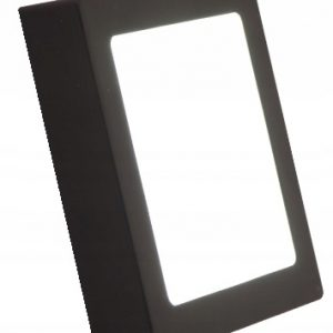 SURFACE MOUNTED LED PANEL 24W BLACK