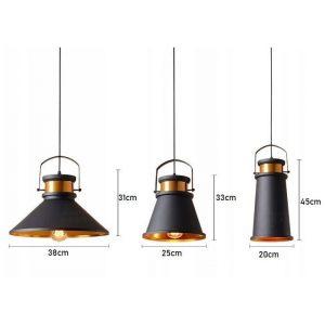 Griestu lampa  - ASTI Trio ABC