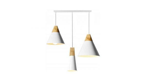Griestu lampa - SCANDI Trio Līnija (3 krāsas)