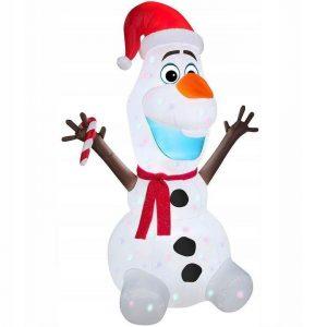 190CM OLAF SNOWMAN, PROJECTOR, COMPRESSOR,