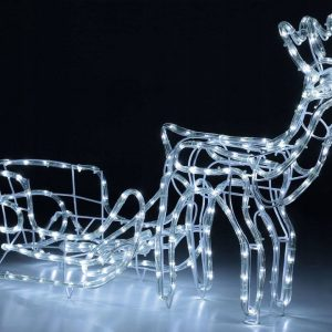 CHRISTMAS REINDEER WITH SLEEVE LED