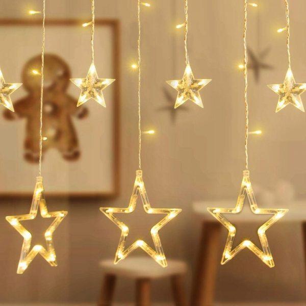 Silti Baltas LED ziemassvētku zvaigznes 2M / 3M