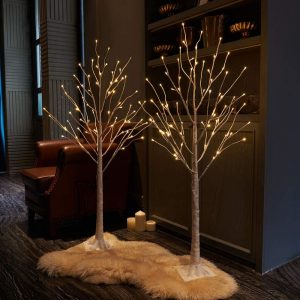 LED CHRISTMAS BIRCH TREE 180CM