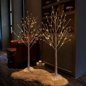 Ziemassvētku LED lampiņu koks 180CM