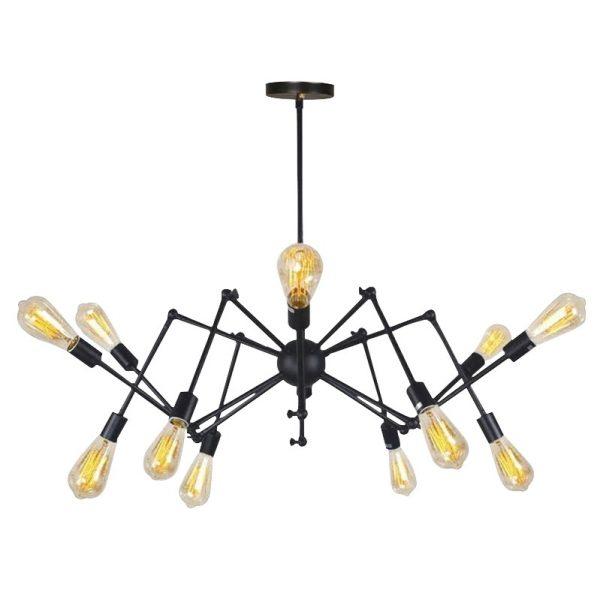 Griestu lampa - SPIDER 12 - Cietā