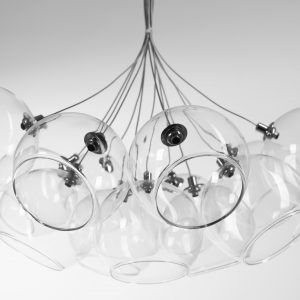 CHANDELIERS - GLASS BALLS
