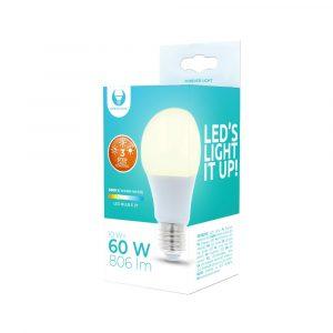 LED spuldze E27 A60 10W 230V 3000K 806lm 3 pakāpju aptumšošana Forever Light