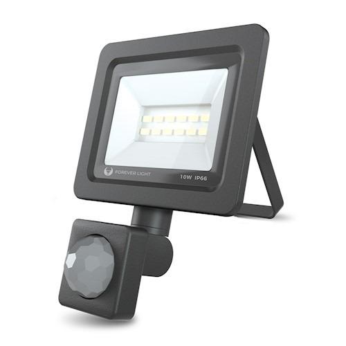 LED prožektors PROXIM II 10W | 4500K | PIR IP66 Forever Light