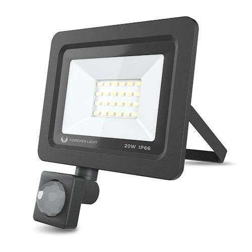 LED prožektors PROXIM II 20W | 4500K 6000K | PIR IP66 Forever Light