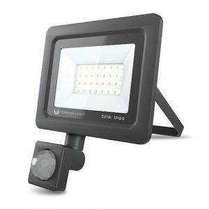 LED prožektors PROXIM II 30W | 45000K 6000K | PIR IP66 Forever Light