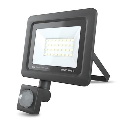 LED prožektors PROXIM II 30W   45000K 6000K   PIR IP66 Forever Light