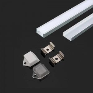 2m alumīnija profils PCB-16mm