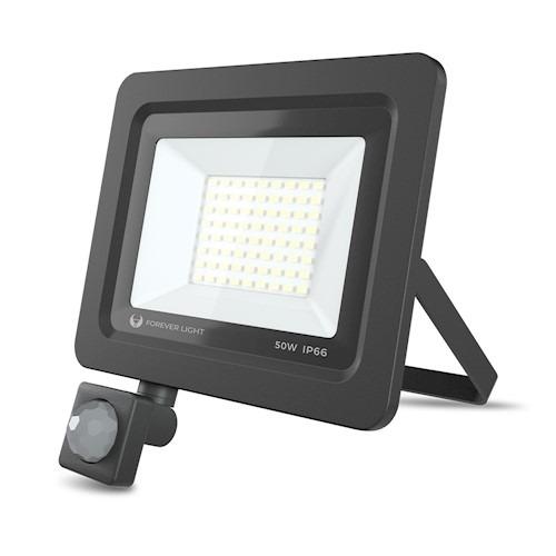 LED prožektors PROXIM II 50W | 4500K - 6000K | PIR IP66 Forever Light