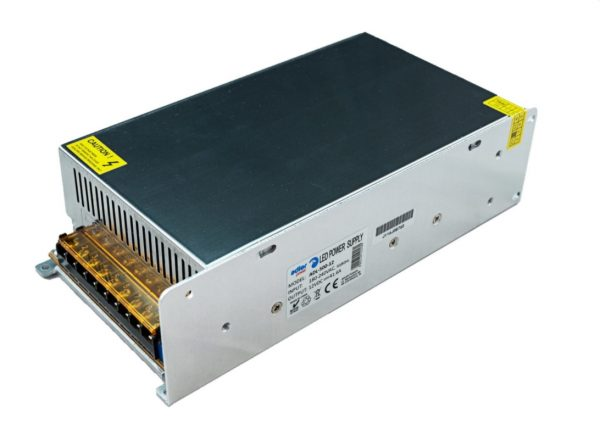 LED Barošanas bloks 12V 500W, metāla, IP20