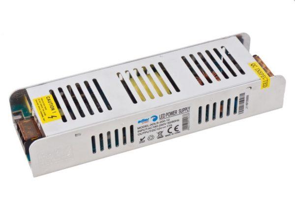 LED Barošanas bloks 12V 200W 17A, metāla, IP20