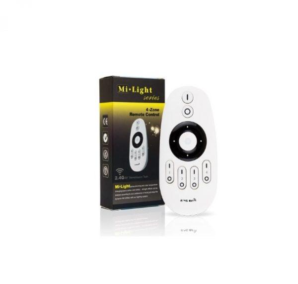 Mi-Light tālvadības pults kontrolierim, 4 kanālu, 4 zonu kontrolieris 2.4G/Wi-Fi/radio vadība, ar vadības riteni