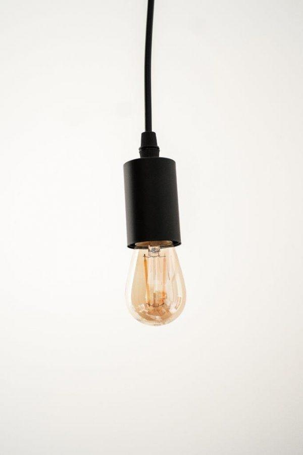 E27 2W (180Lm) S14, LED Spuldze Filament Amber, Silti Balta Gaisma 2500K