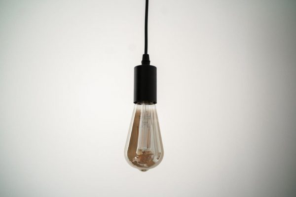 E27 6W(560Lm) LED Spuldze Filament Retro Tonēta, ST64, 2500K