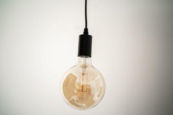 E27 8W(720Lm) LED Spuldze Filament AMBER, G120, silti balta gaisma 2500K
