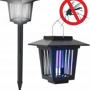 Dārza Gaismeklis Pret Insektiem Ar Saules Bateriju J-22