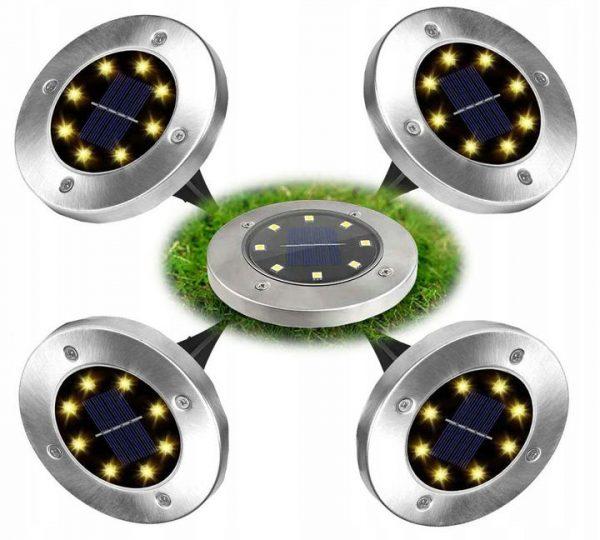 Dārza Gaismeklis Ar Saules Bateriju J-01 (4gb.)