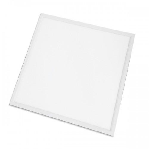 LED panelis 40W, kvadrāts (595x595), balts korpuss, 120 lm / W, 4000K neitrāli balts, IP40,  PZH apstiprinājums