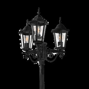 Dārza Laterna - LIGURIA-LT black 2,5m
