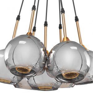 Griestu lampa- RIOM stikla bumbas