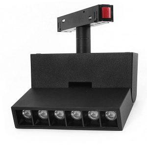 LED  gaismeklis magnētiskajām sliedēm 6W DDCX-GDZD6