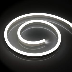 LED Neon Flex 24V | 2835 | 120LED | 1m | IP67 | NEITRĀLI BALTS 4000K |