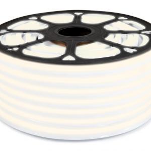 LED Neon Flex 24V | 2835 | 120LED | 1m | IP67 | SILTI BALTS 3000K |
