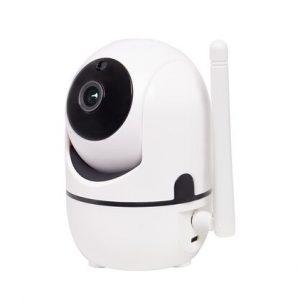 Rotējoša IP WIFI kamera 'ROBO' 2.0 Mpix, FL 3.6 mm, IR 6, balta